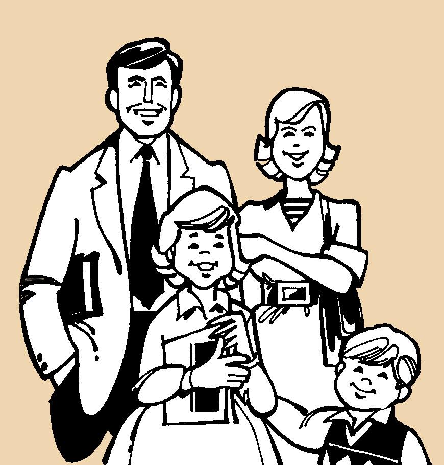 familia dibujo